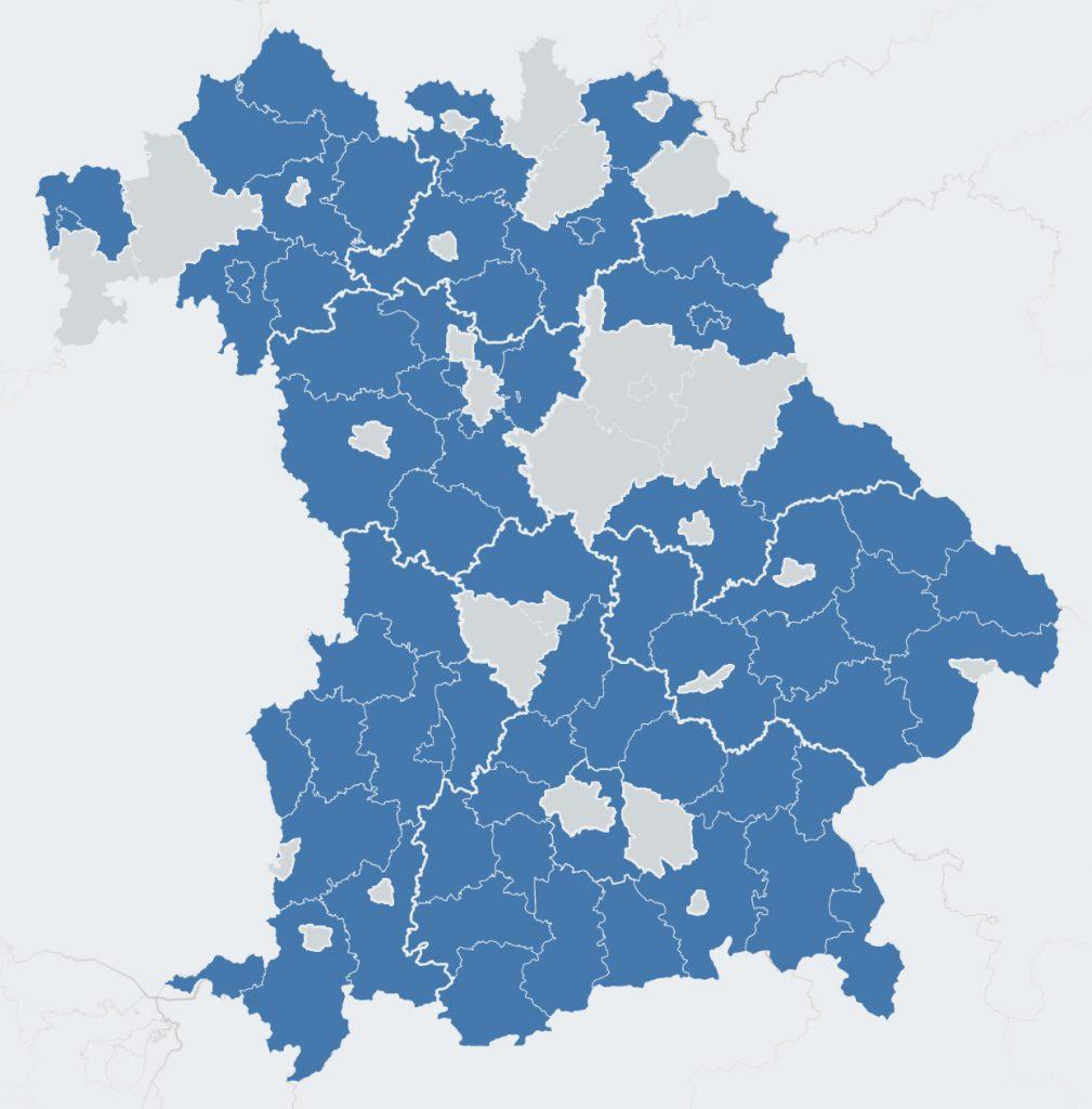 Corwese Referenzen in ganz Bayern